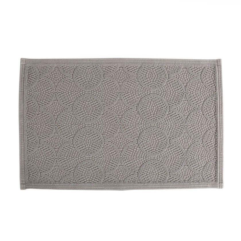 Zara Bath Mat, Grey – 60x90 cms