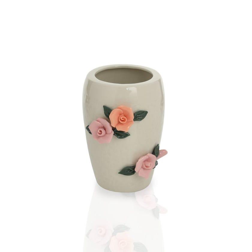 Earthenware Floral Ceramic Tumbler