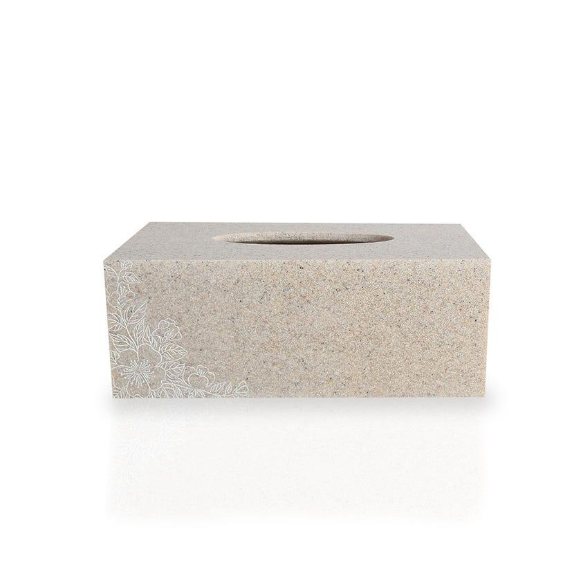 Sand Flower Resin Tissue Box
