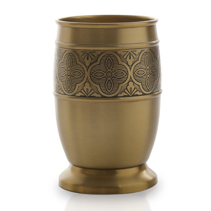 Zurin Tumbler, Brushed Gold