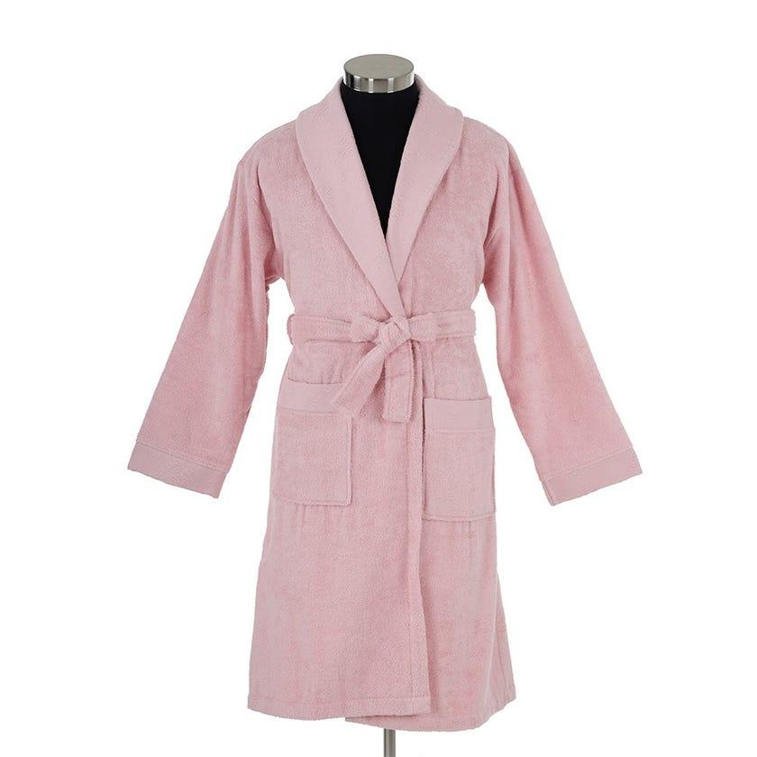Blenda One Size Bathrobe, Rose Pink