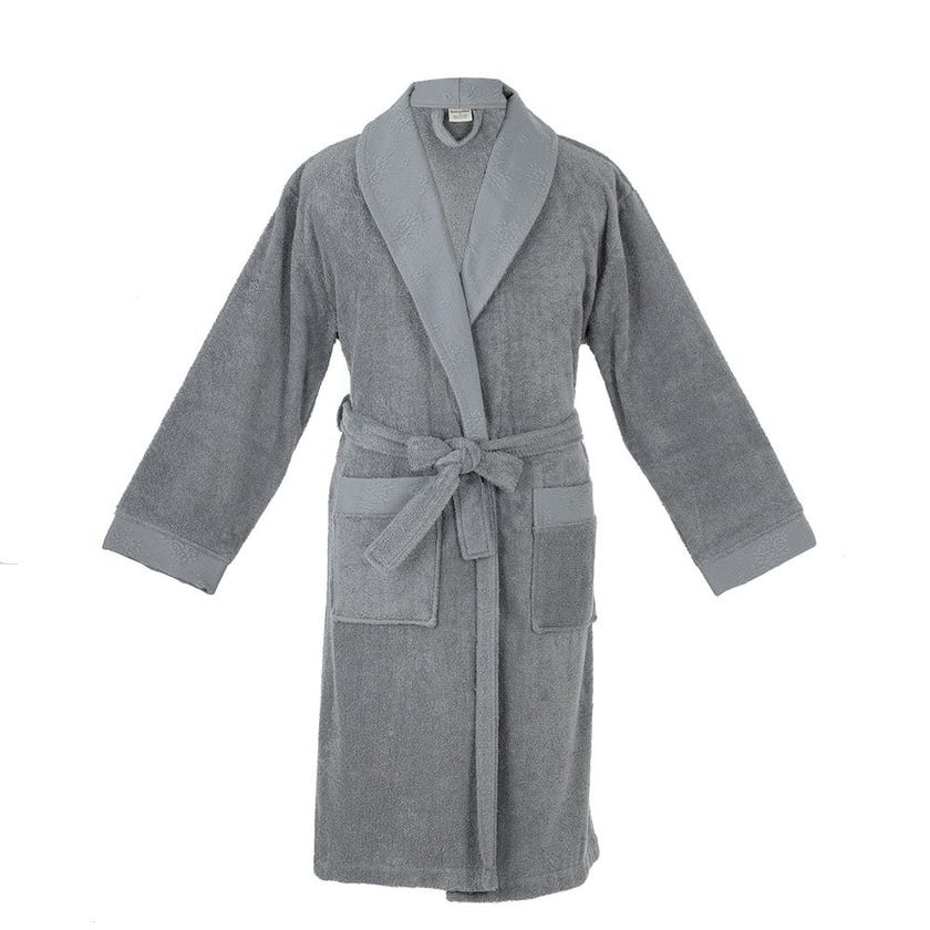 Blenda One Size Bathrobe, Grey