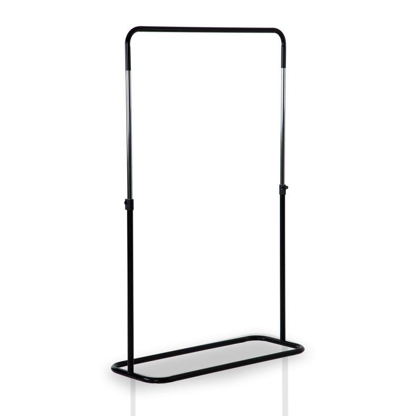 Garment Rack, Metal, Black - D40 X H99/165 cms