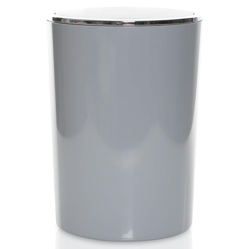 Lenox Waste Bin, Grey- 6 Litres