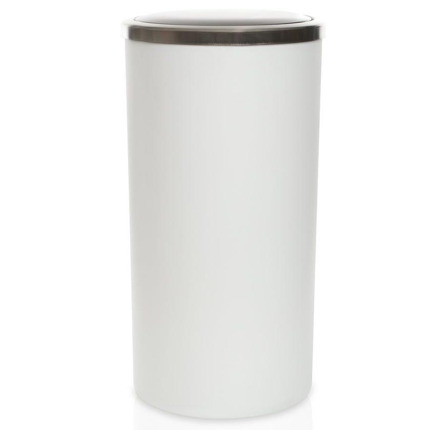Lenox Waste Bin, White - 35 L