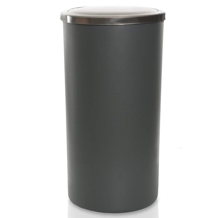 Lenox Waste Bin, Grey - 35 L