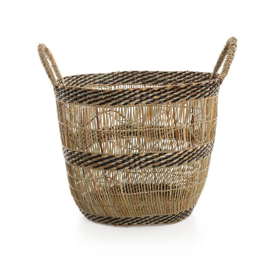 Boho Basket, Natural - 28 cms