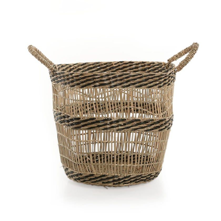 Boho Basket, Natural - 26 cms