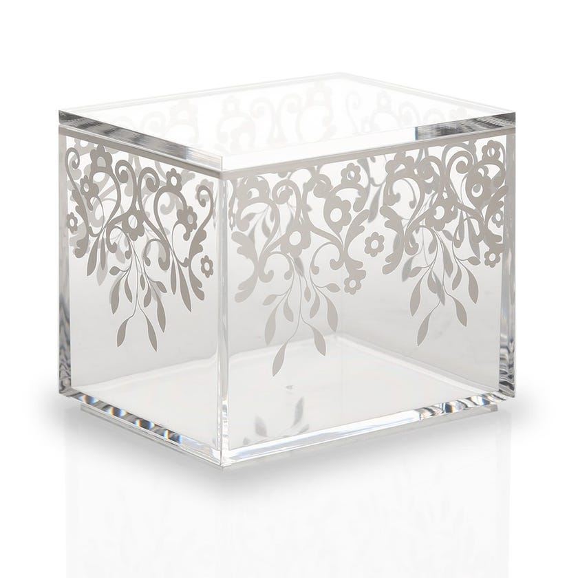 Printed Container with Lid, Clear - Small