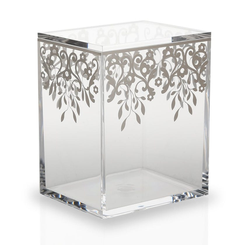 Printed Container with Lid, Clear - Medium