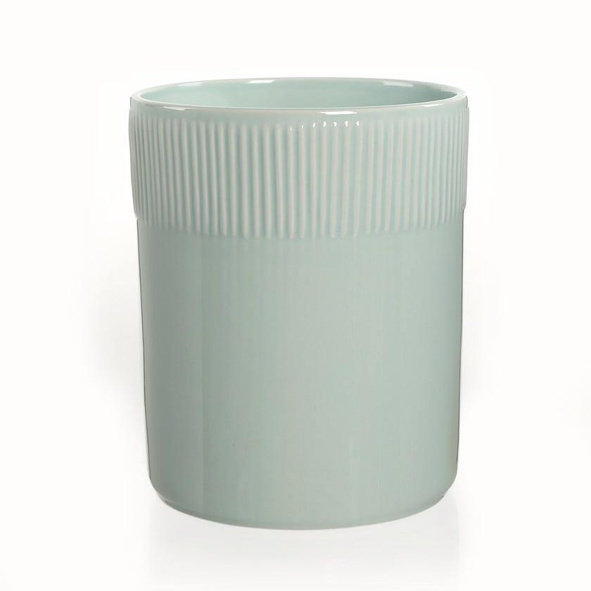 Ubuntu Premium Ceramic Waste Bin, Turquoise