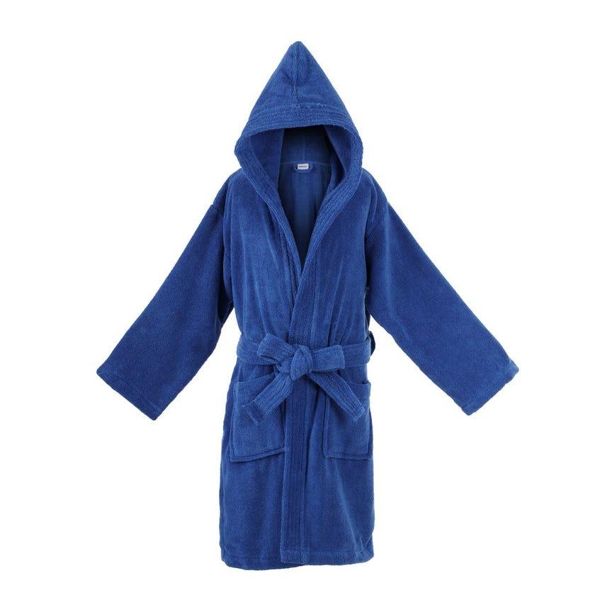 Zero Twist Kids Bathrobe, Blue - 4-6 yrs
