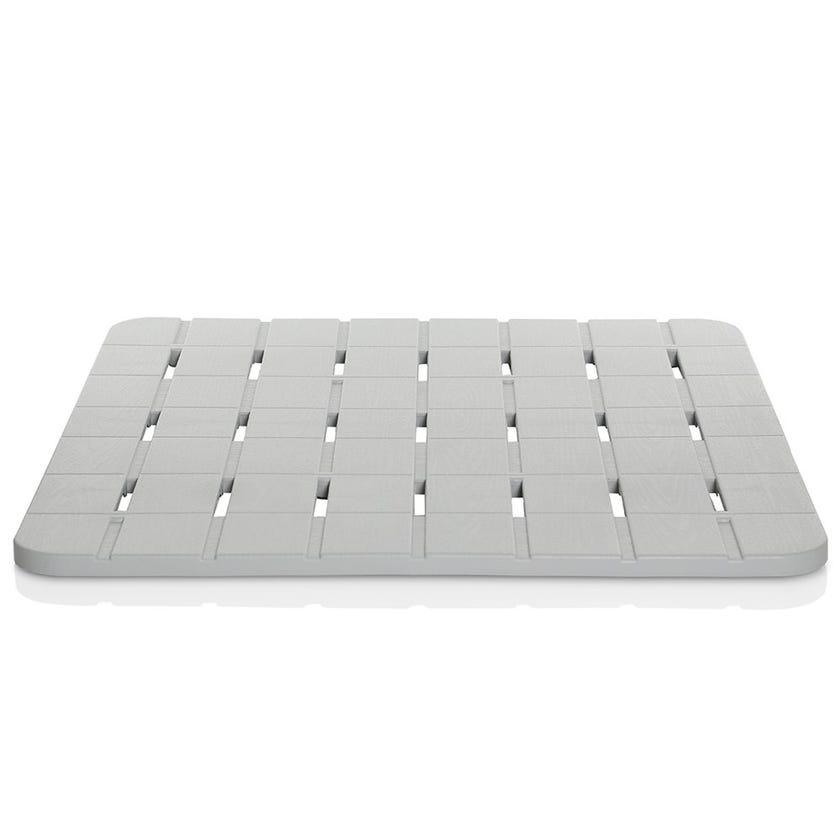 Duck Board Shower Mat, Grey- 55 x 55 cms