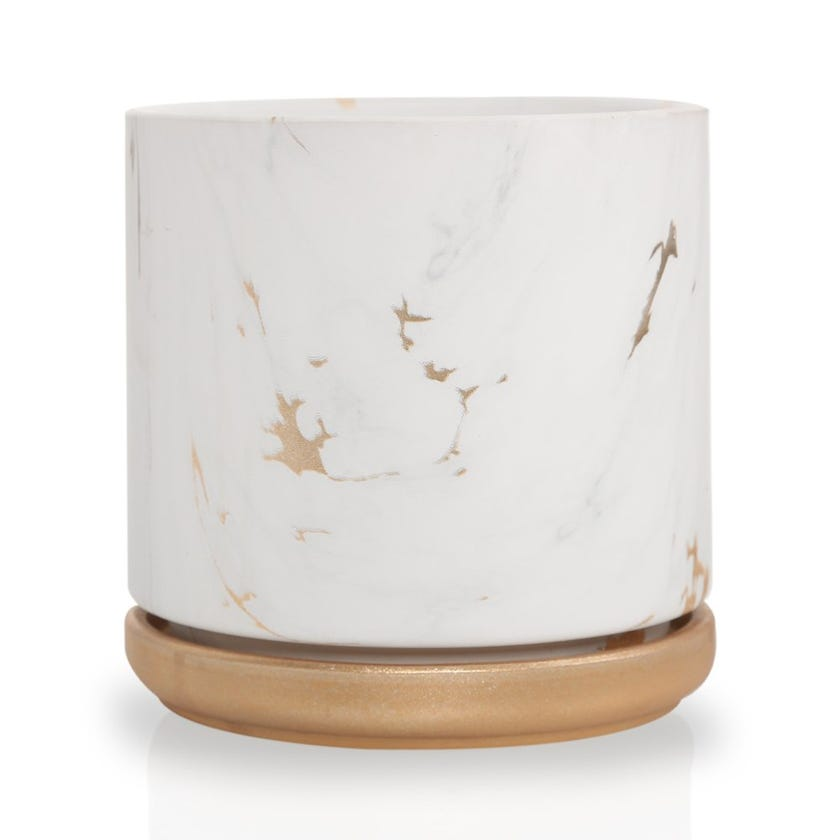 Marble Festive Planter – 13 cms