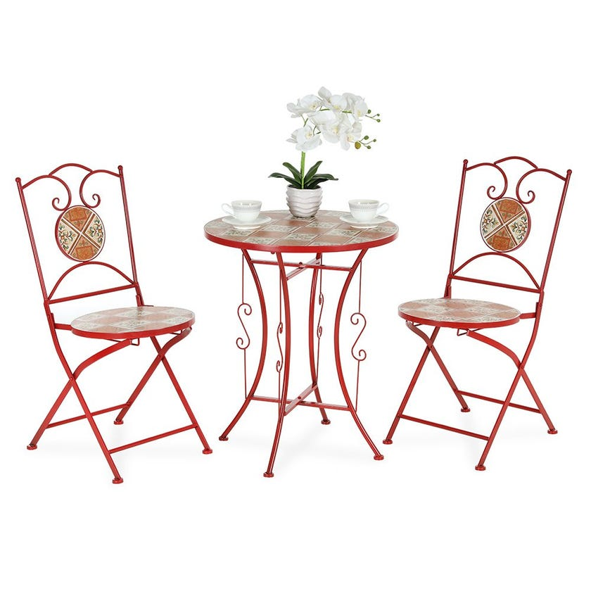 Pablo Bistro Table Set With 2 Chairs