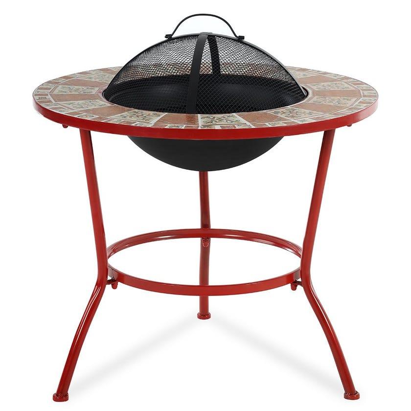 Pablo Mosaic BBQ Table