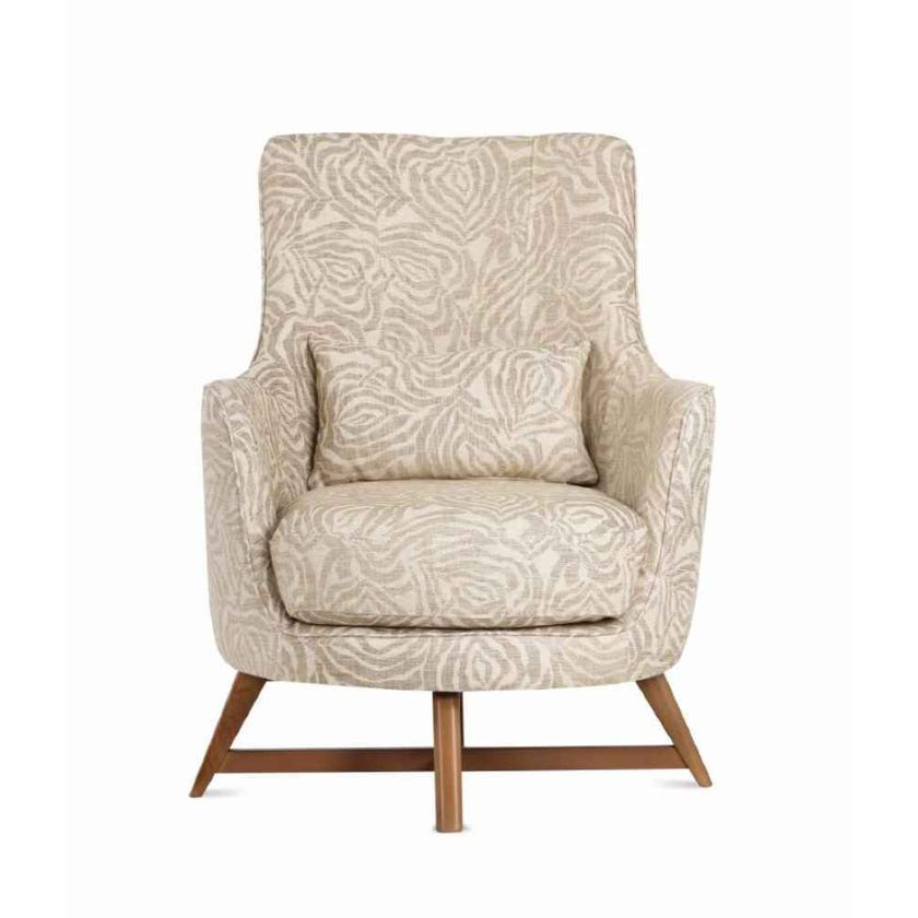 Oslo Fabric Upholstered Armchair