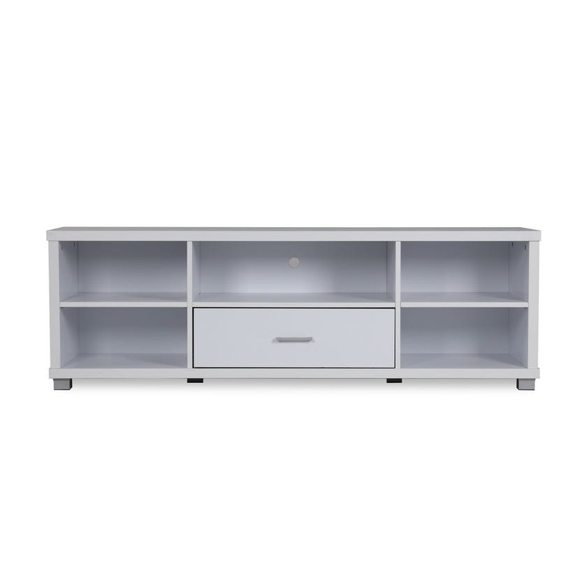 Logan Entertainment Unit with 5 Shelves & 1 Drawer