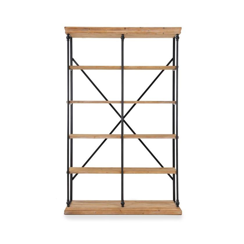 Vega Wooden Display Unit - Walnut