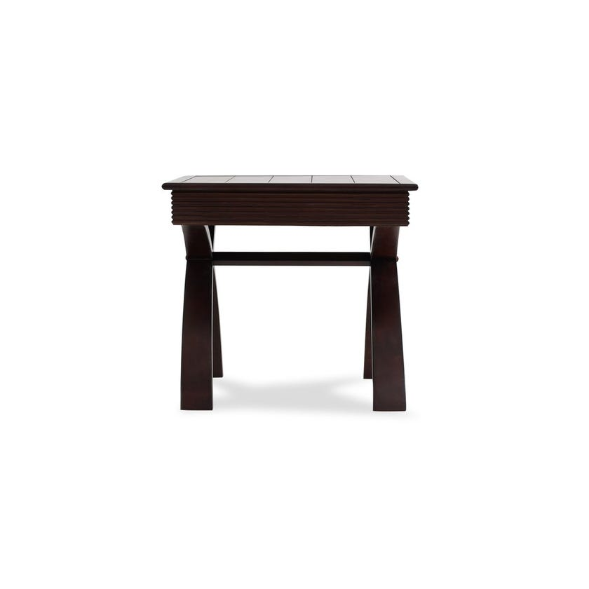 Ira Wooden End Table - Wenge