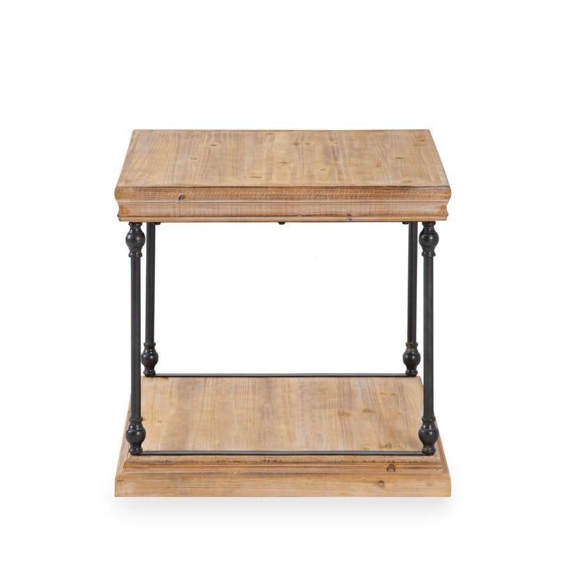 Vega Wooden End Table - Walnut
