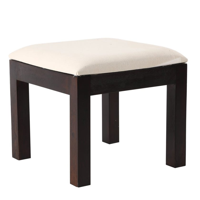 Milton Solid Wood Coffee Table with 4 Stools - Honey