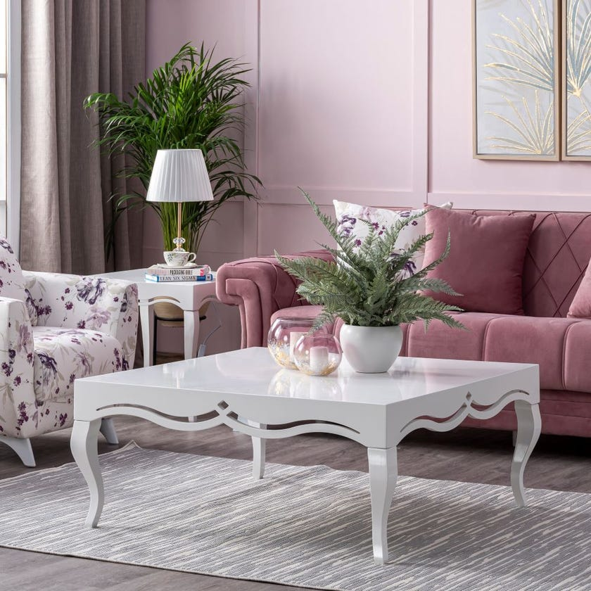 Lale Coffee Table - White