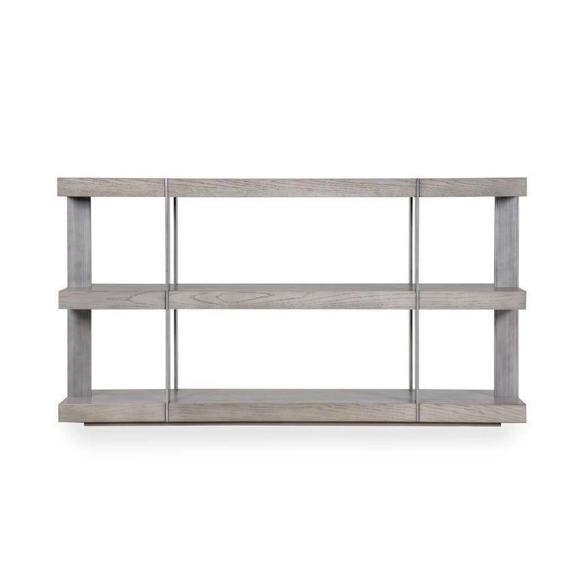 Verrazzano Veneer Console Table - Grey