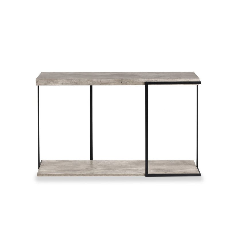 Lublin Engineered Wood Console Table - Grey