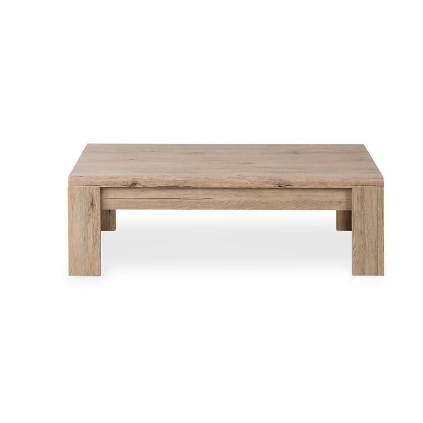 Braxton Wooden Coffee Table, Summer Oak