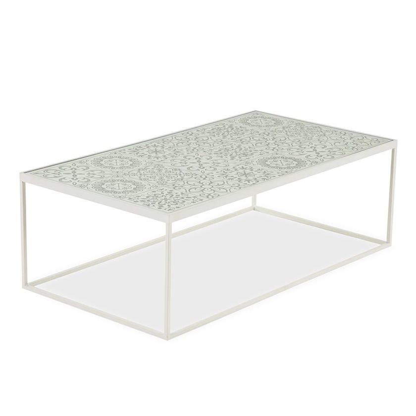 Carlo Coffee Table, White
