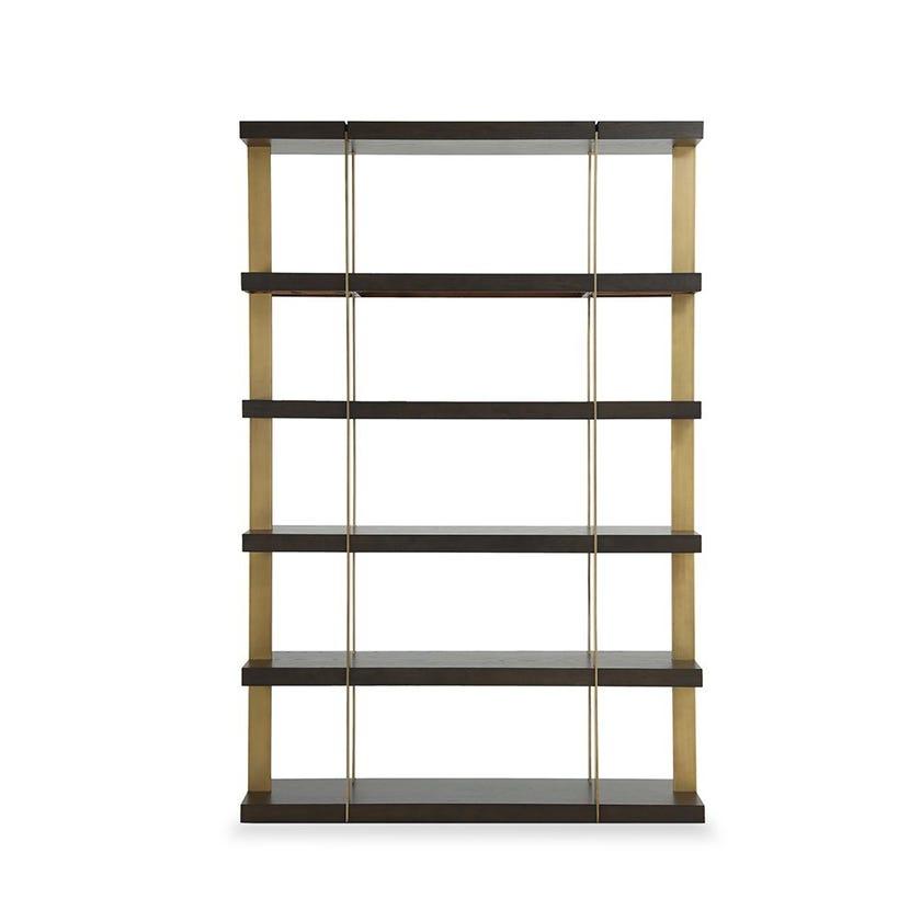 Verrazzano Veneer 6-row Shelves - Wenge