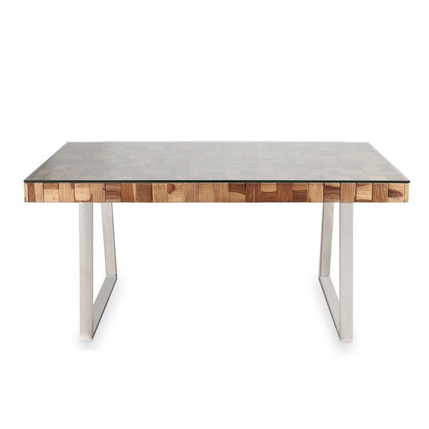 Castilian Sheesham Wood 6-seater Dining Table