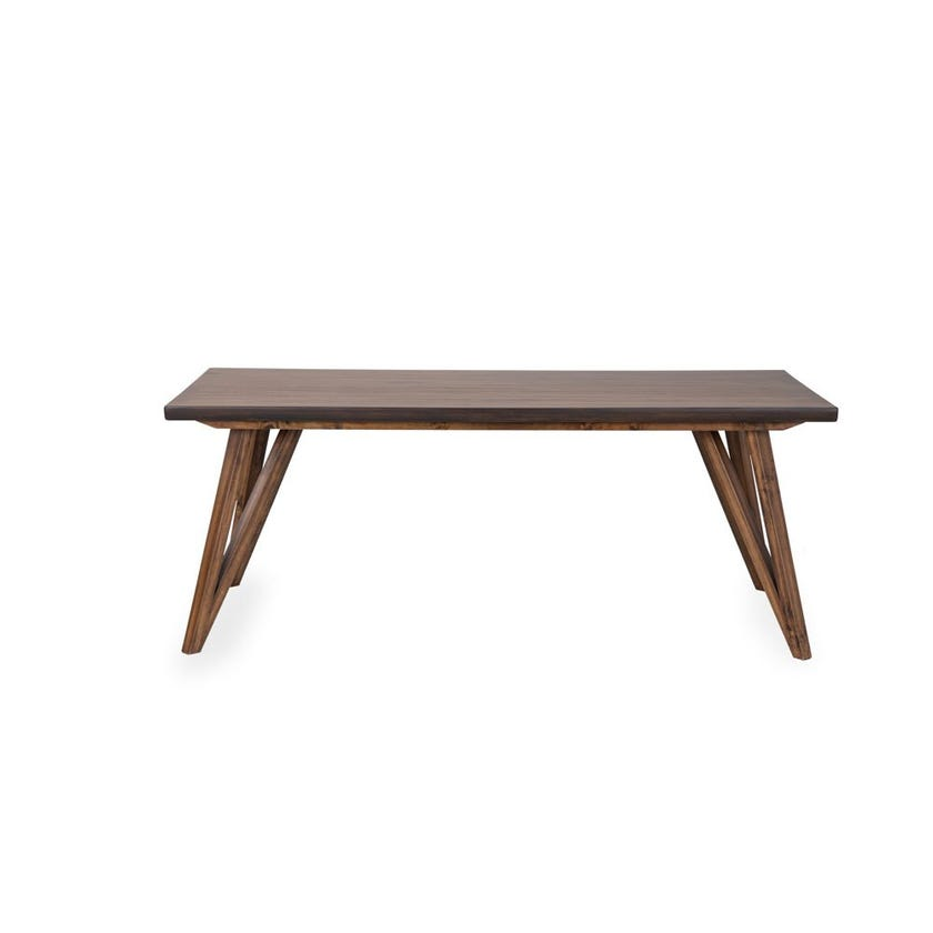 Sunny Veneer 6-seater Dining Table - Oak
