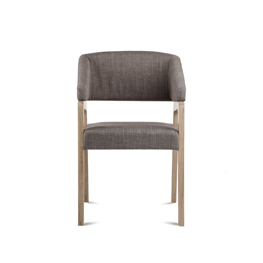 Madison Fabric Upholstered Hardwood Dining Chair