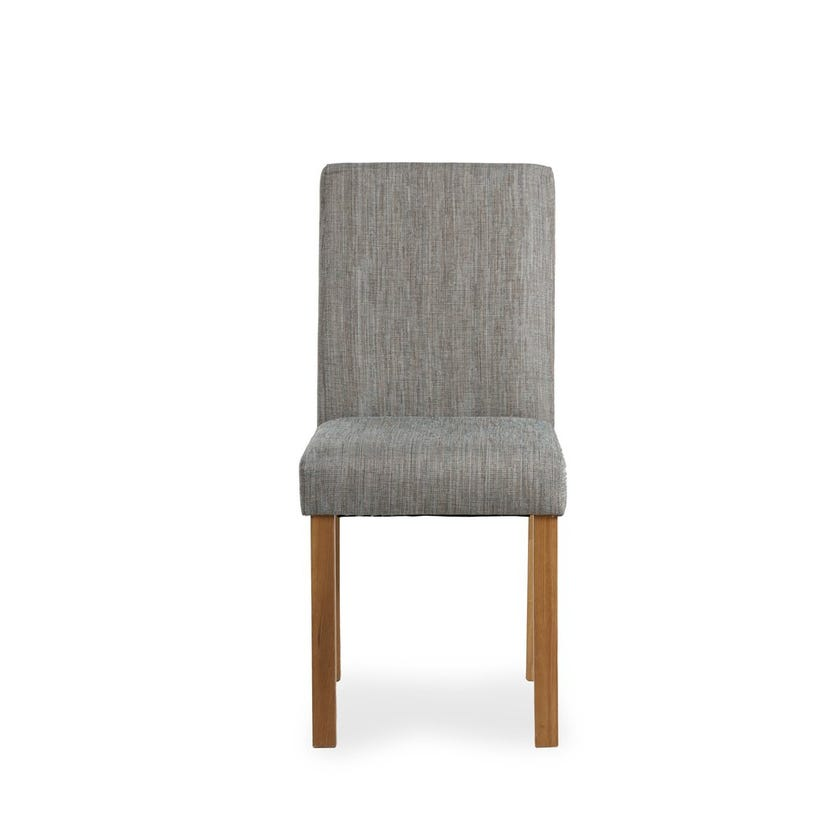 Venice Fabric Upholstered Dining Chair, Grey