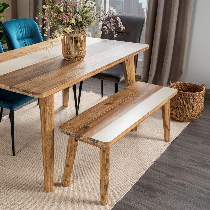 Ella Engineered Wood Bench