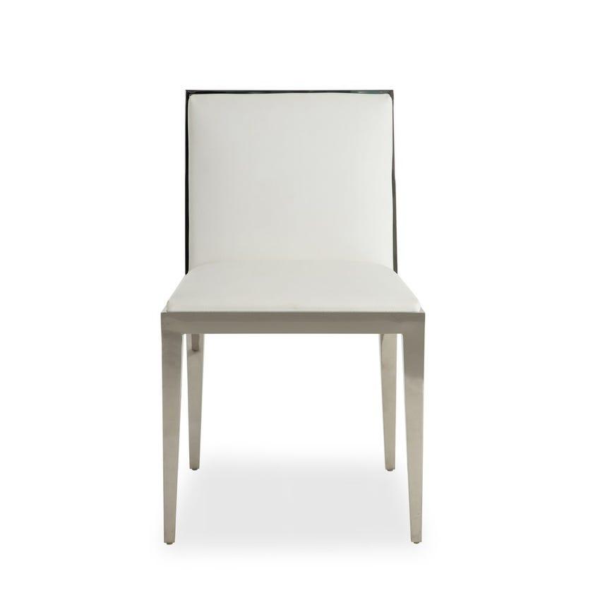 Ella Upholstered Metal Dining Chair