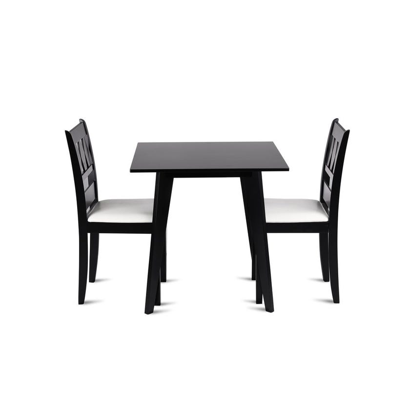 Net Engineered Wood 2-seater Dining Set with 2 Chairs