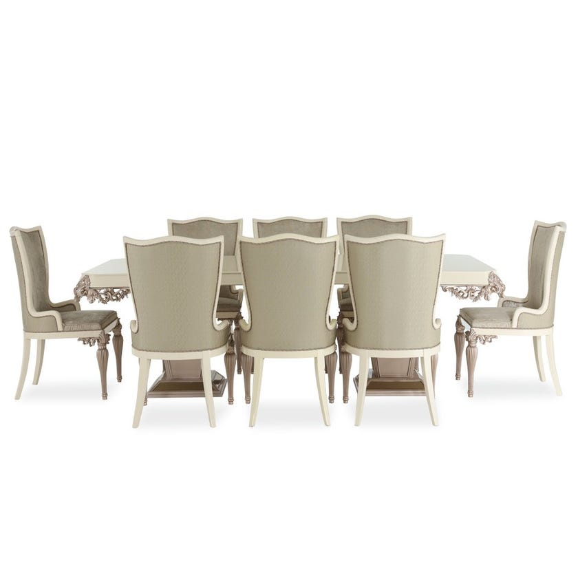 Sabiha 8-seater Dining Set with 8 Chairs