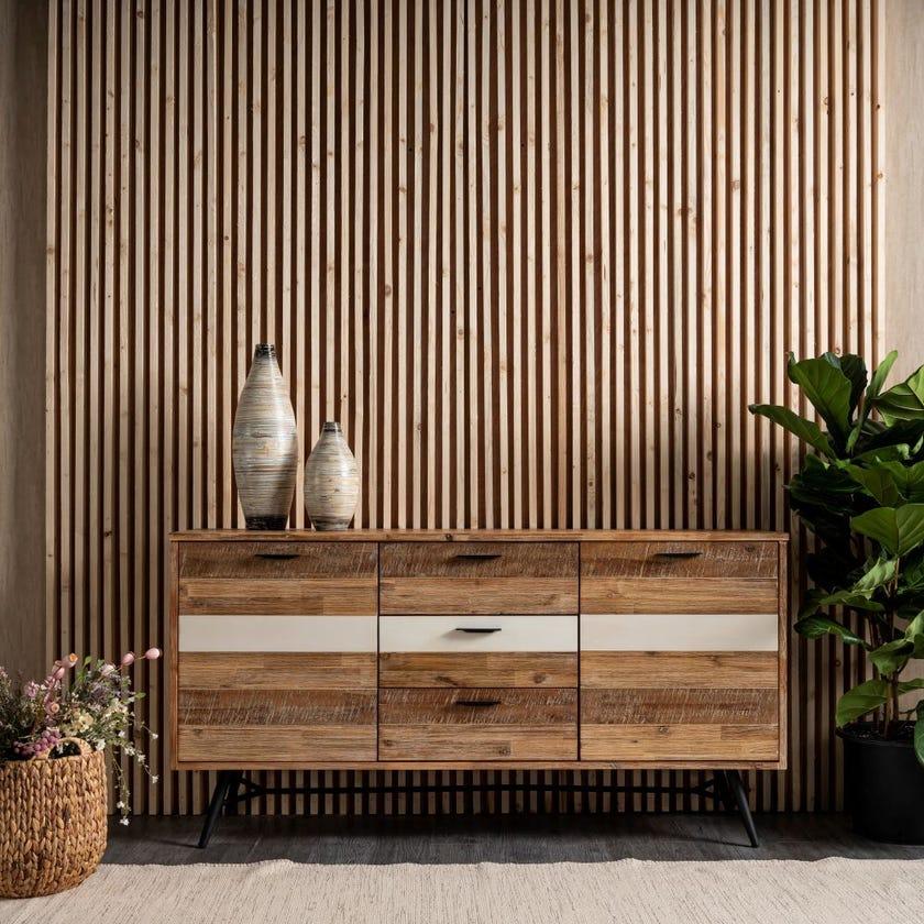 Ella 3-drawer 2-door Sideboard