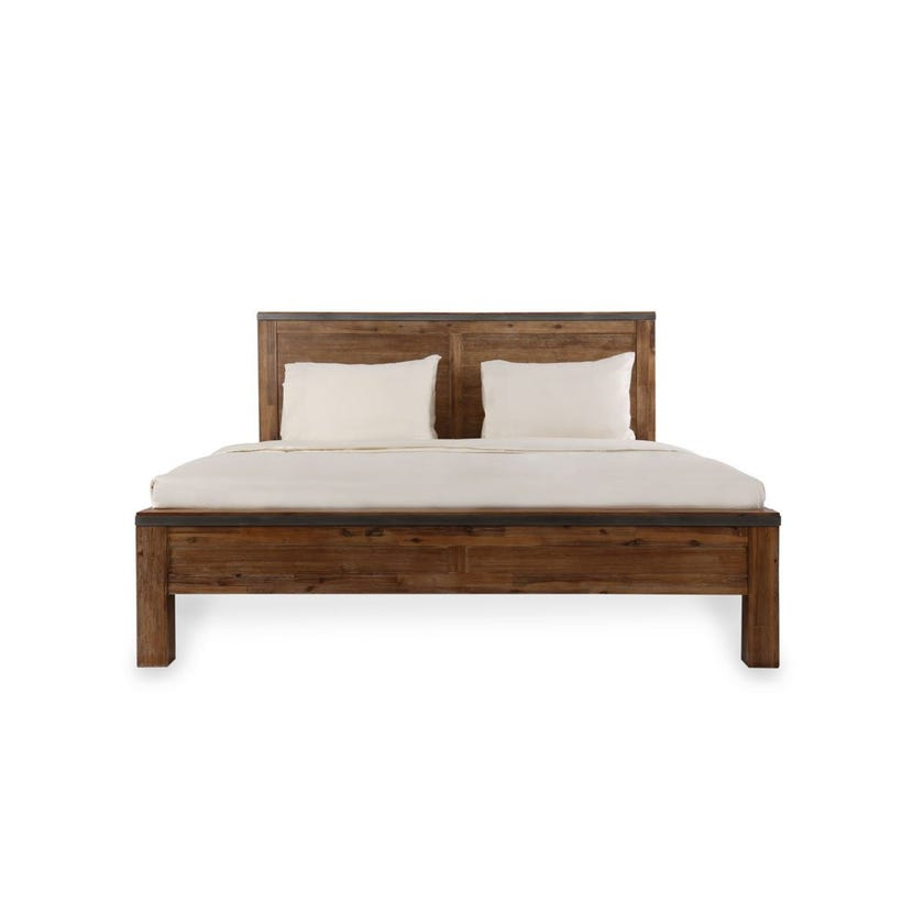 Napier King Size Wooden Bed - 180 x 200 cms