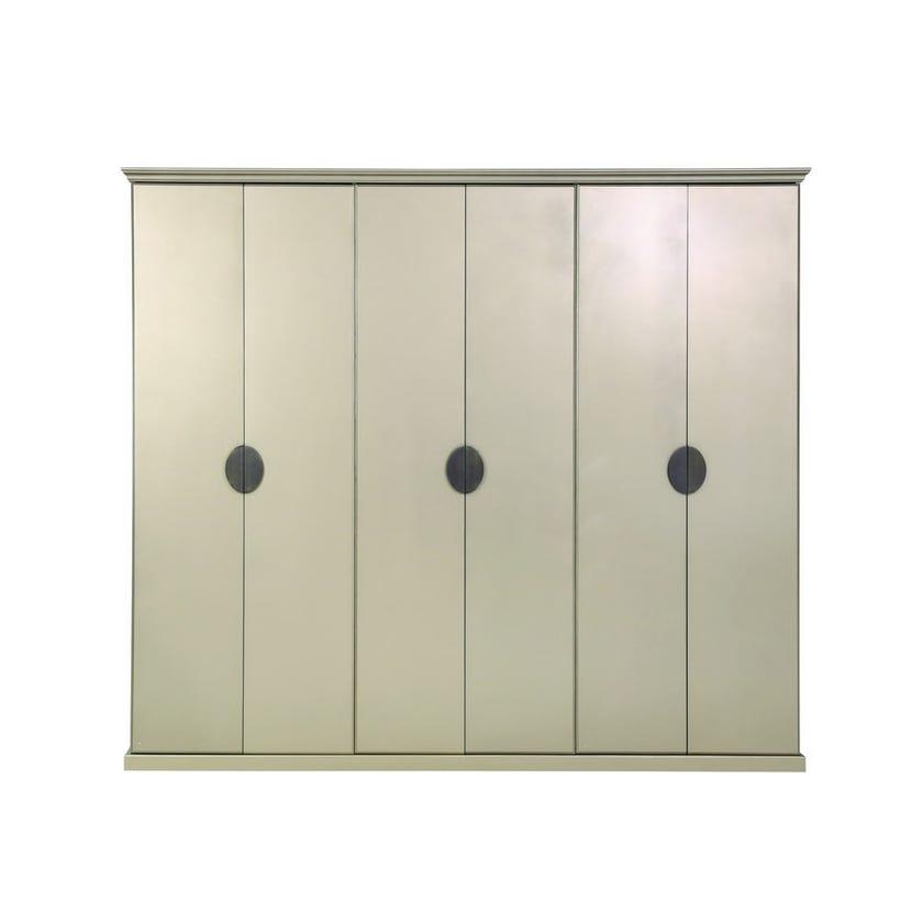 Boston Engineered Wood 6-door Wardrobe - Gold
