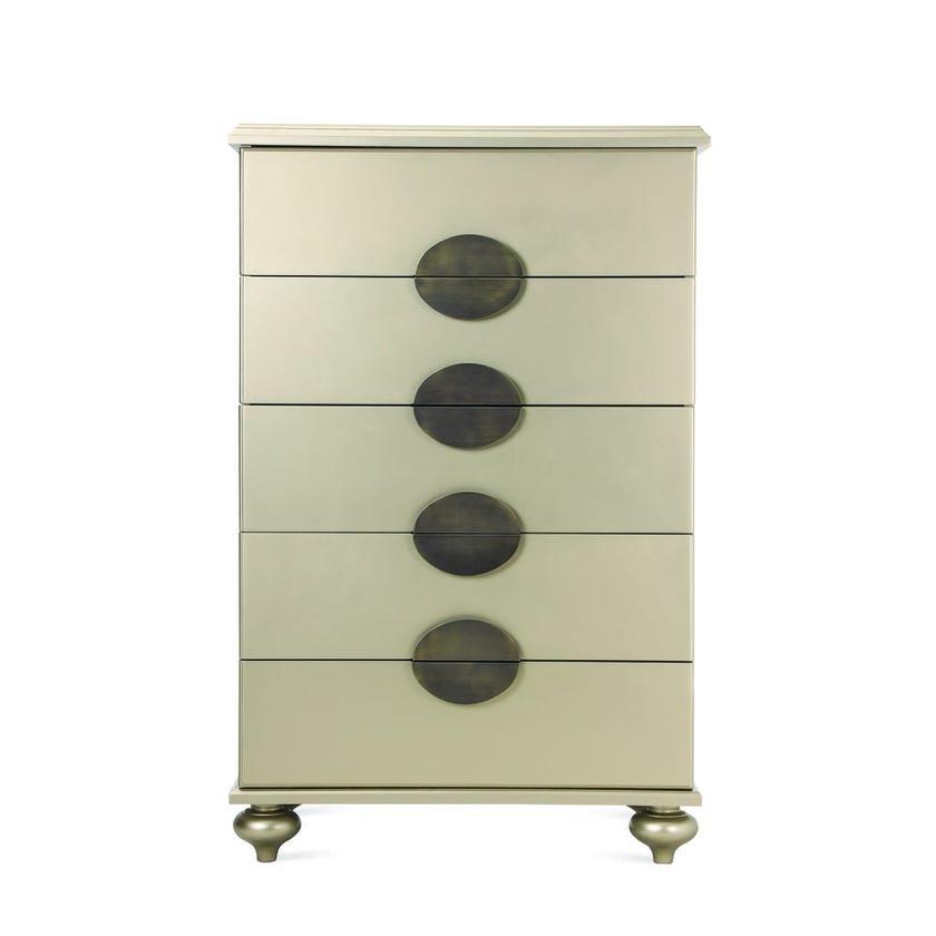 Boston 5-drawer Chest - Gold