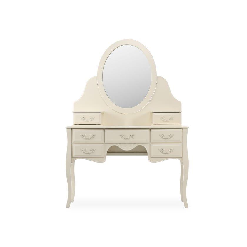 Charlotte 7-Drawer Dresser with Mirror