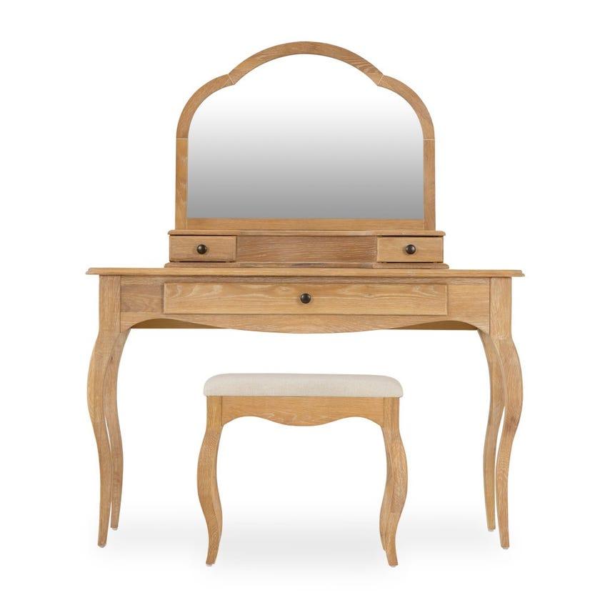 Prague 3-drawer Dresser with Mirror