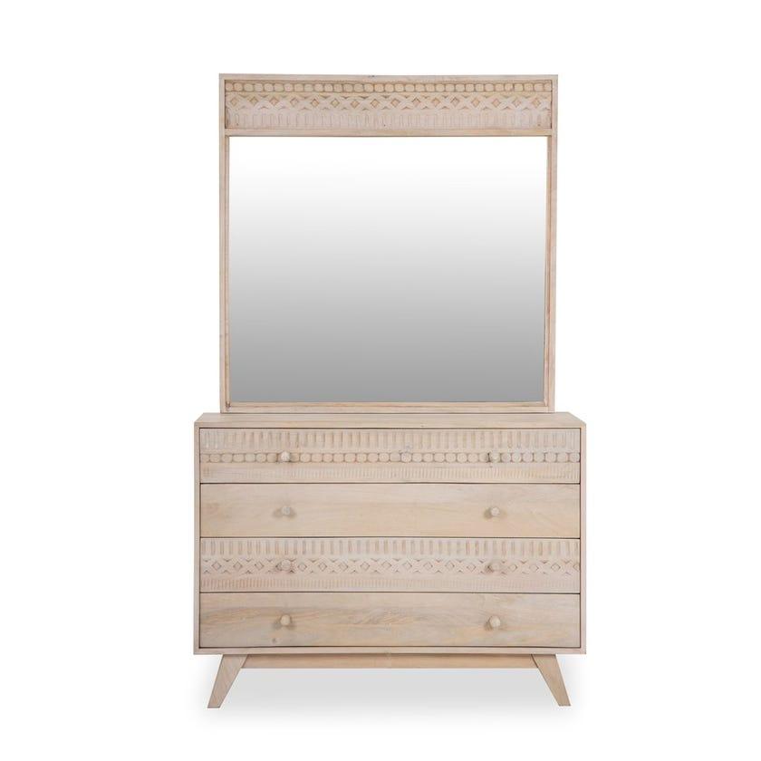 Nomad Dresser with Mirror