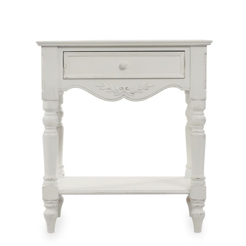 Romance 1-Drawer Bedside Table