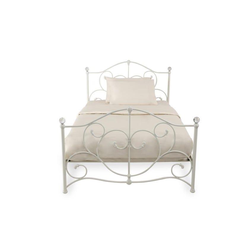 Fern Single Metal Bed - 120 x 200 cms