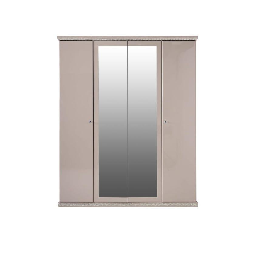 Tiara 4-Door Wardrobe